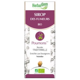 Sirop des fumeurs bio 150 ml - herbalgem -221014