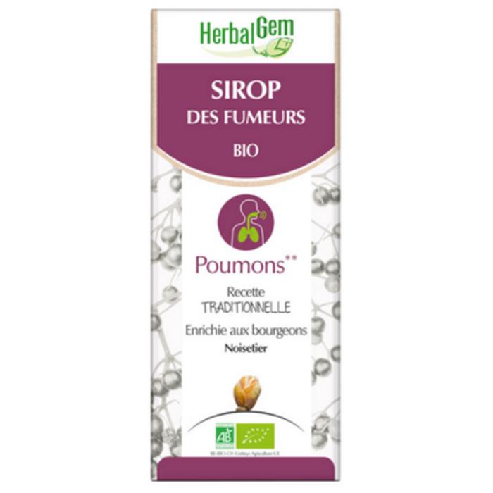 Sirop des fumeurs bio 150 ml Herbalgem-221014