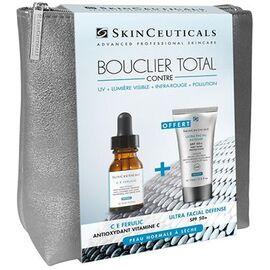 Skinceuticals trousse bouclier total ce ferulic 15ml + ultra facial defense spf50+ 15ml offert - skinceuticals -221428