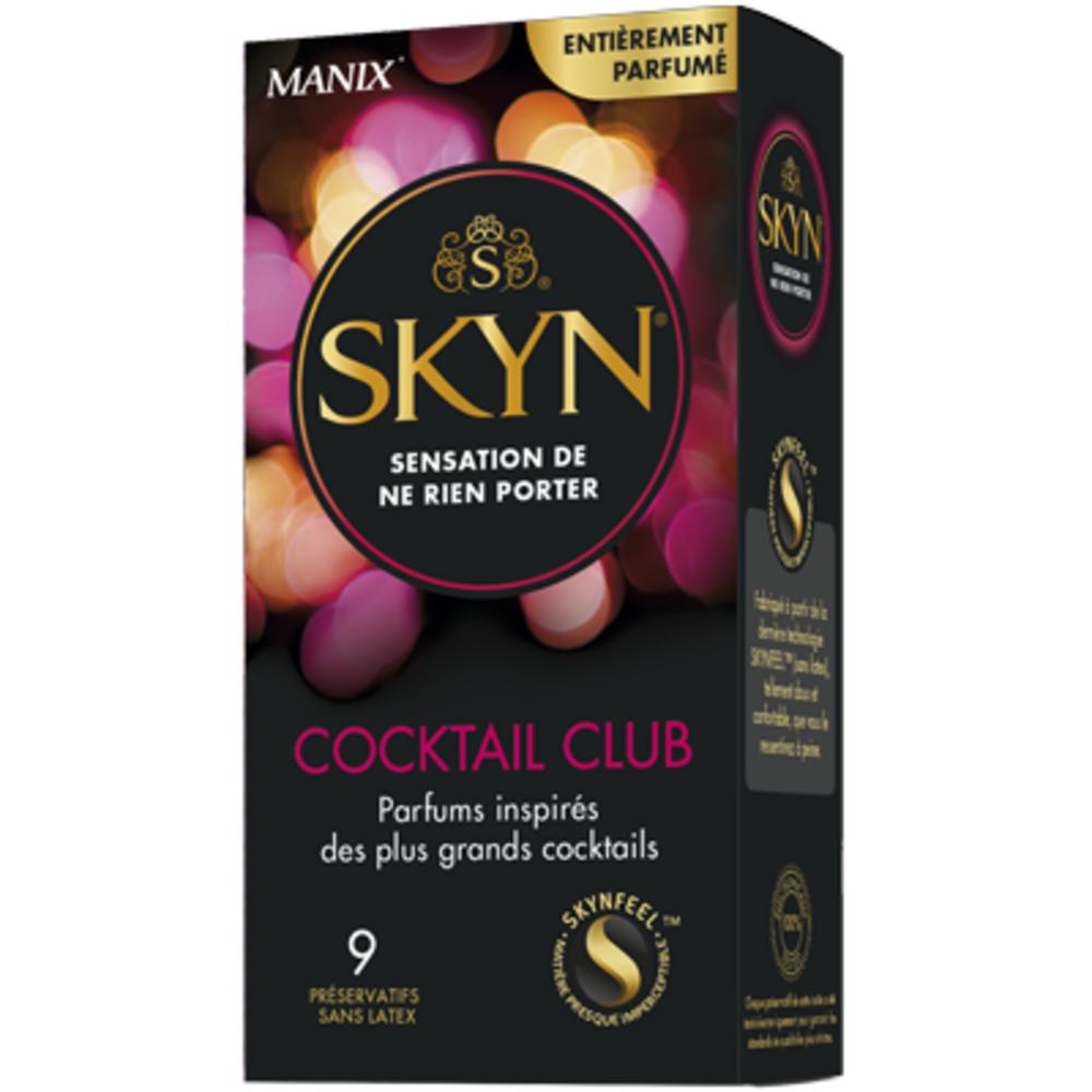 Skyn Cocktail Club - 9 préservatifs - Manix -205347