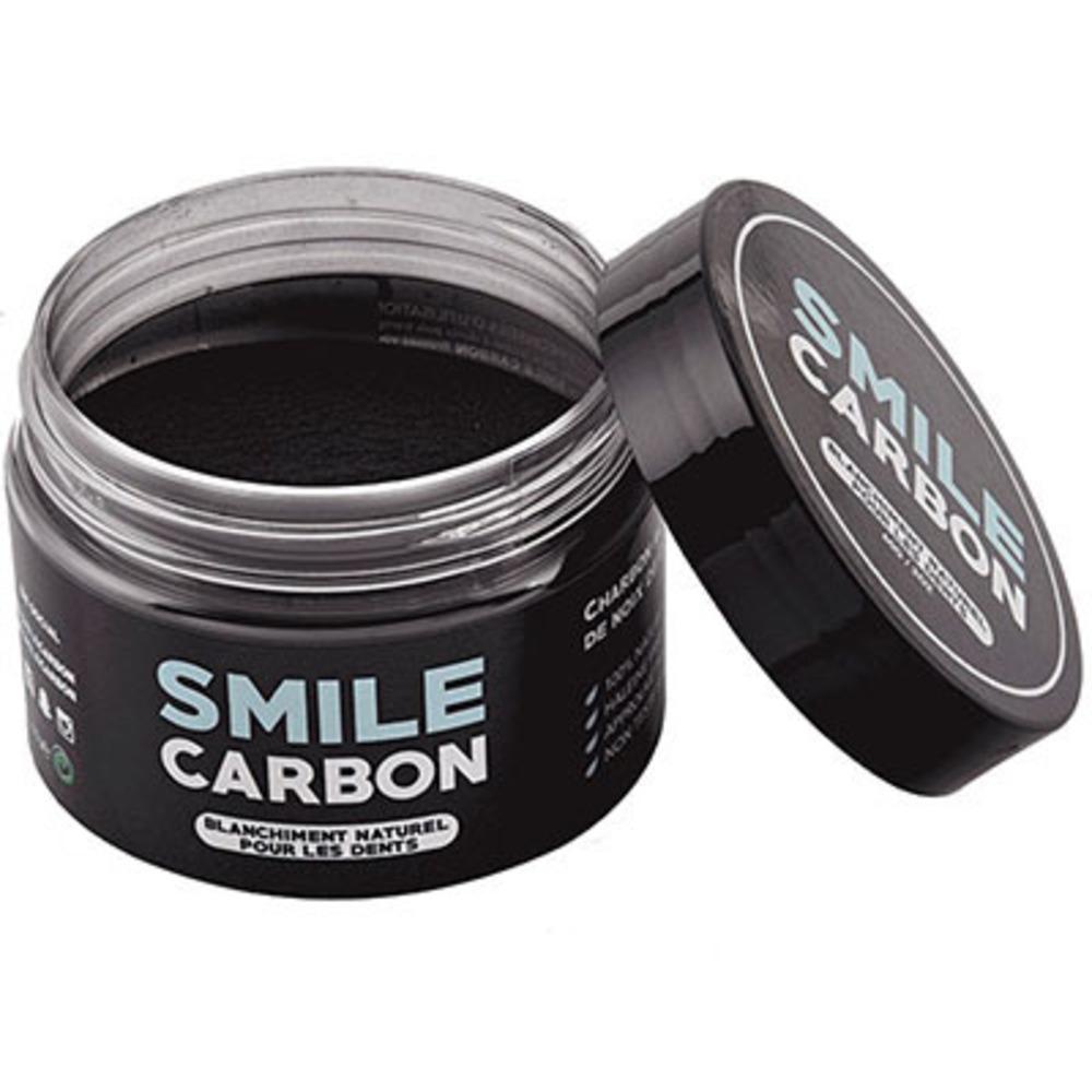 Smile carbon blanchiment dentaire 100% naturel 15g - smile-carbon -222526
