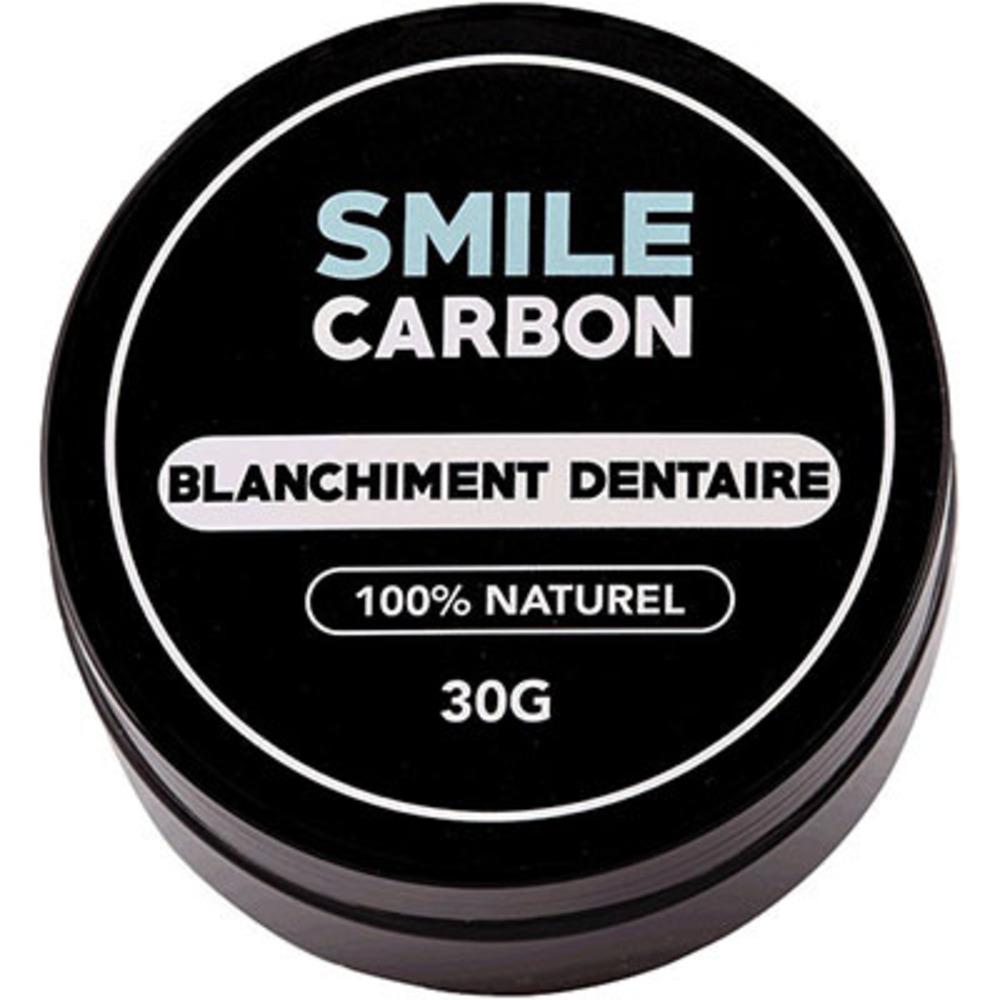 Smile carbon blanchiment dentaire 100% naturel 30g - smile-carbon -222527