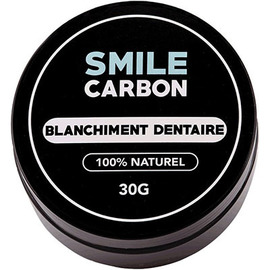 Smile carbon blanchiment dentaire 100% naturel 30g - smile-carbon -222527
