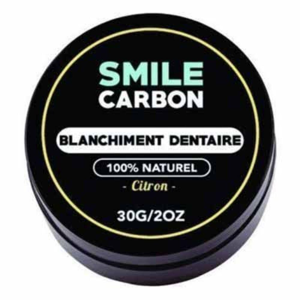 Smile carbon blanchiment dentaire citron 30g - smile-carbon -223562