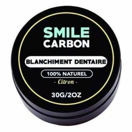 Smile carbon blanchiment dentaire citron 30g - smile-carbon -223562