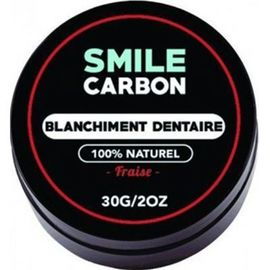 Smile carbon blanchiment dentaire fraise 30g - smile-carbon -226055