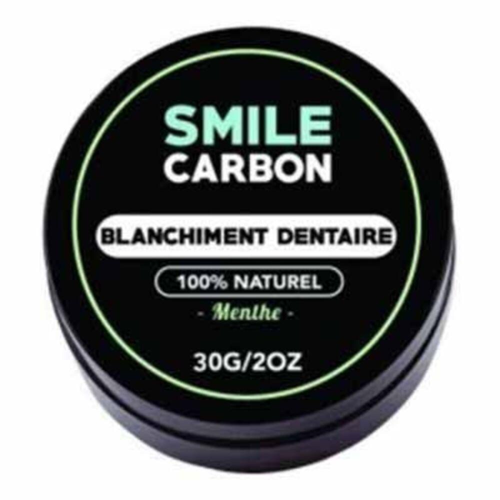 Smile carbon blanchiment dentaire menthe 30g - smile-carbon -223563