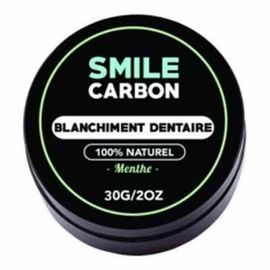 Smile carbon blanchiment dentaire menthe 30g - smile-carbon -223563