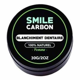 Smile carbon blanchiment dentaire pomme 30g - smile-carbon -223577