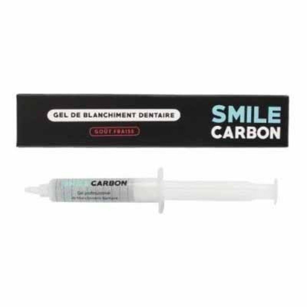 Smile carbon gel de blanchiment dentaire goût fraise 10ml - smile-carbon -223580