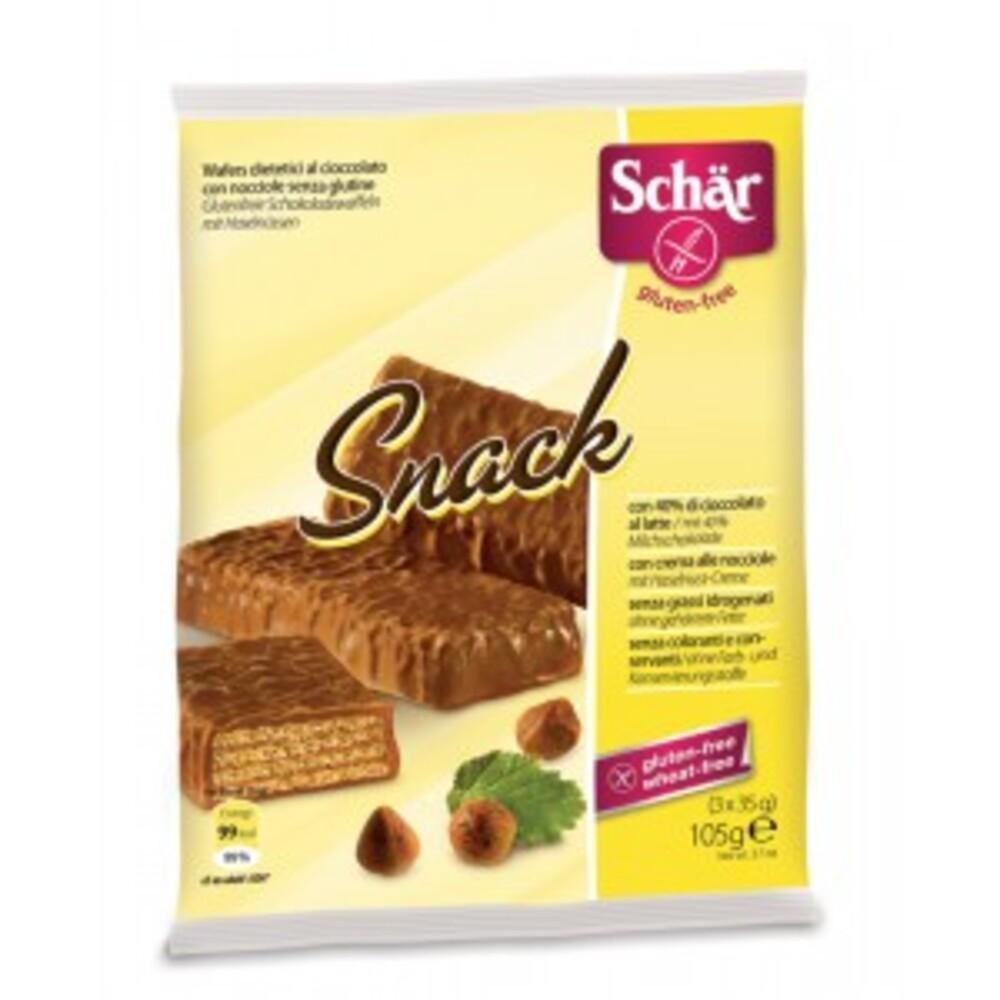 Snack, fourré à la crème de noisette - 105 g - divers - schar -138212