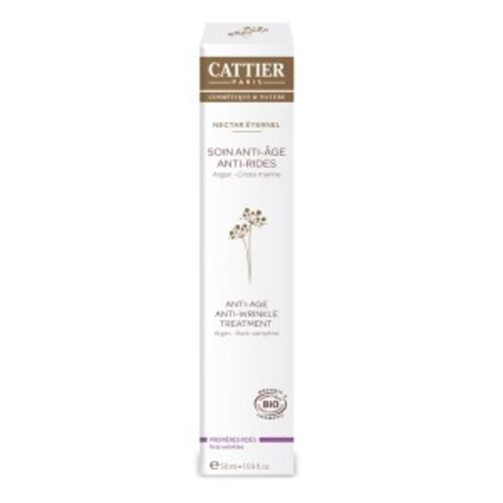 Soin anti-âge, anti-rides - nectar éternel - 50.0 ml - visage - cattier Prévient le vieillissement de la peau-10017