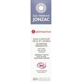 Soin contour yeux lèvres jeunesse immédiate - 15.0 ml - sublimactive - anti-age - eau thermale jonzac -139006
