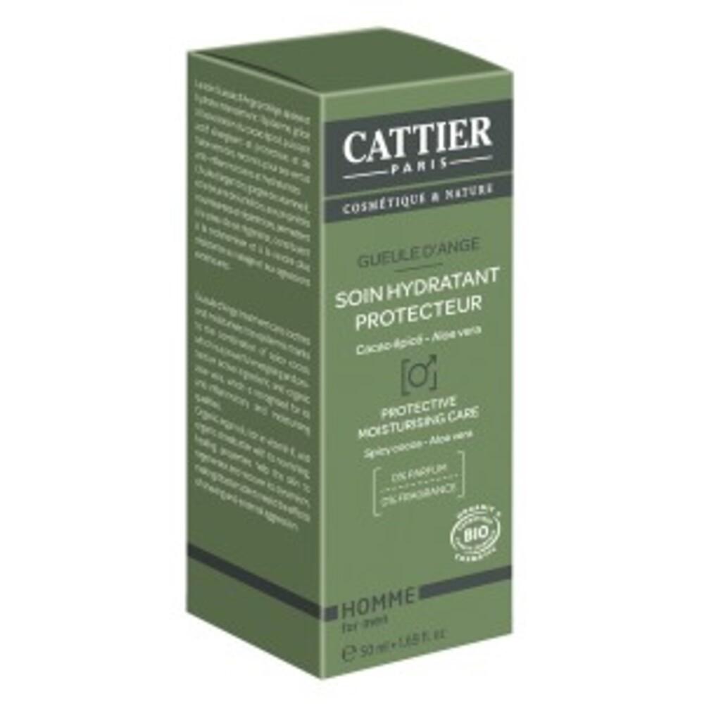 Soin hydratant protecteur - gueule d'ange - 50.0 ml - homme - cattier Un soin protecteur qui apaise et hydrate l'épiderme.-103885
