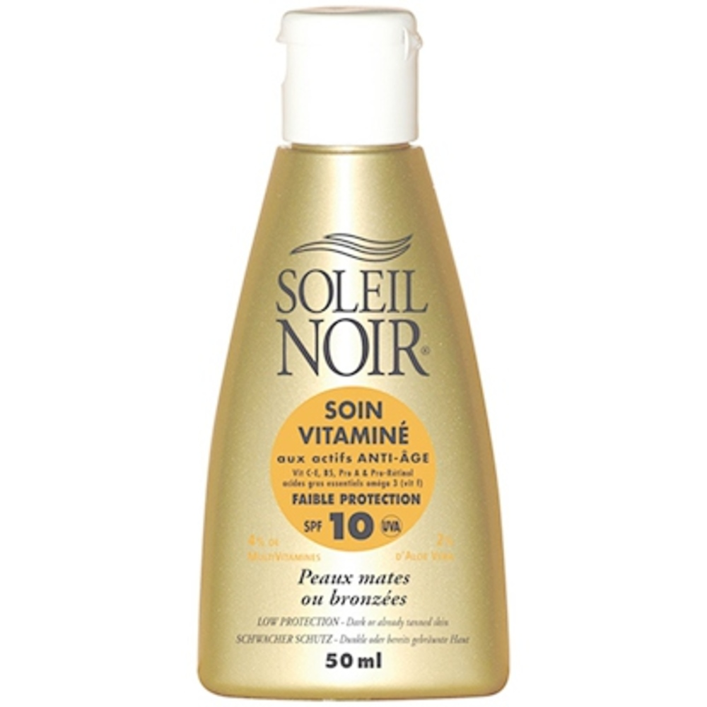 Soin vitaminé spf 10 - 50 ml - soleil noir -195944