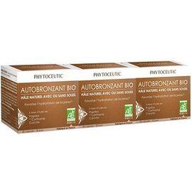 Solaire autobronzant bio 3x30 capsules - phytoceutic -225909