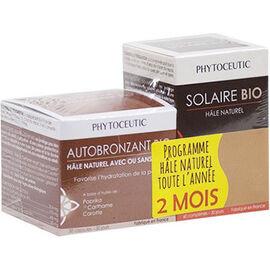 Solaire bio 60 comprimés + autobronzant bio 30 capsules - phytoceutic -225911
