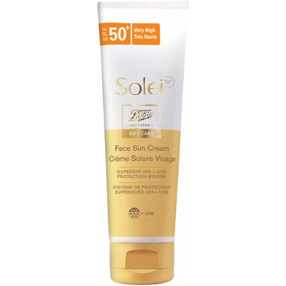 prix de solei crme solaire visage spf 50 50ml. Black Bedroom Furniture Sets. Home Design Ideas