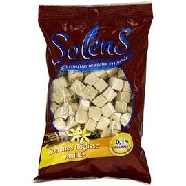 Solens gommes réglisse vanillée 100g - 20.0 unites - gamme réglisse - solens -4278