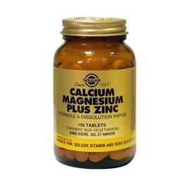 Solgar calcium magnesium zinc - solgar -198565