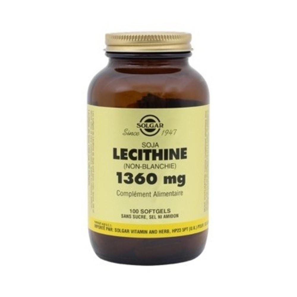 Solgar lecithine 1360mg - solgar -198587