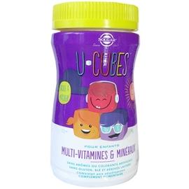Solgar u-cubes multi-vitamines et minéraux - 60 gommes - solgar -205337