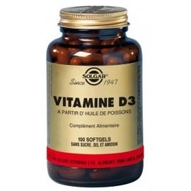 Solgar vitamine d3 - 100.0 unites - vitamines a & d - solgar -140961