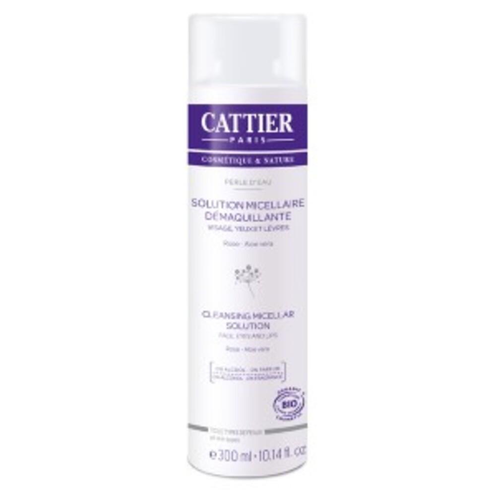 Solution micellaire démaquillant, perle d'eau bio - 300.0 ml - visage - cattier -134598