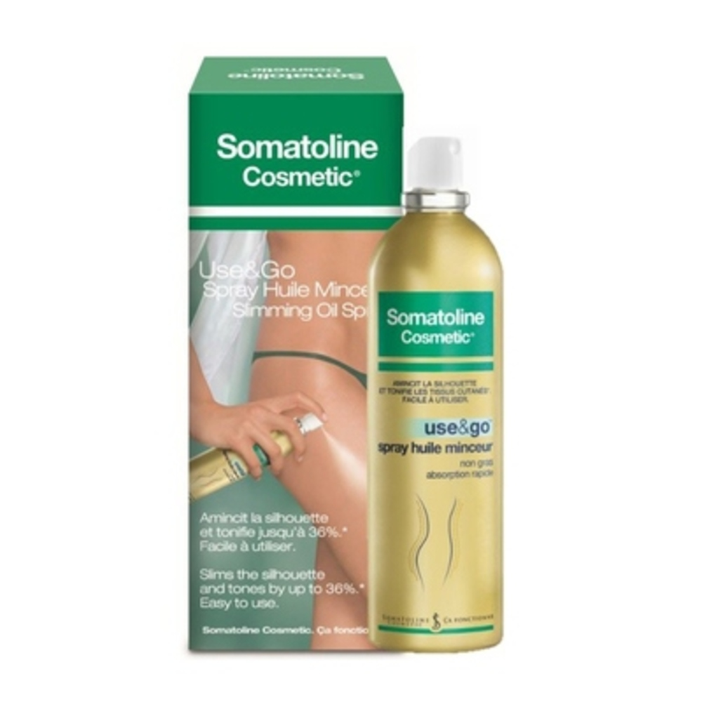 Somatoline cosmetic spray huile minceur use&go - 125ml - somatoline cosmetic -212794