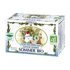 Sommeil jasmin bio - 20.0 unites - tisanes complexes bio - romon nature -10347