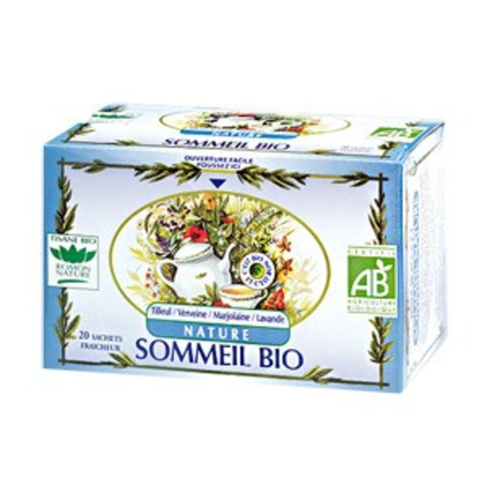 Sommeil nature - 20.0 unites - tisanes complexes bio - romon nature -16179