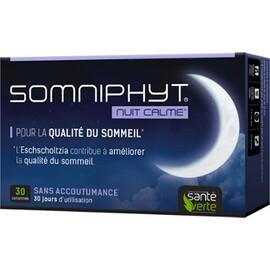 Somniphyt nuit calme 30 comprimés - sante verte -213884