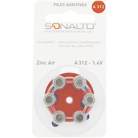 Sonalto piles auditives a312 x6 - sonalto -205396