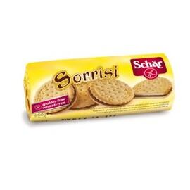Sorrisi, biscuits fourrés à la crème au cacao - 250 g - divers - schar -138190