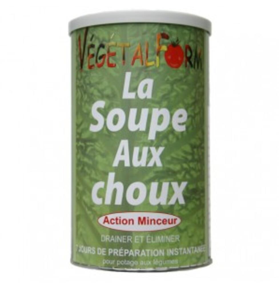 Soupe aux choux - 300.0 g - soupes aux choux et gaspacho minceur - végétalform Diète végétale-16151