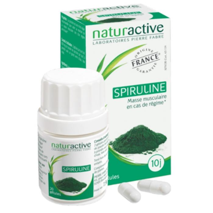 Spiruline - 20 gélules Naturactive-204880