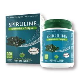 Spiruline - 300 comprimés - divers - phyto-actif -140229
