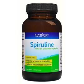 Spiruline poudre fine - 100.0 g - spiruline de californie - natésis Source de Phytonutriments, anti-oxydants, Vitamines et Minéraux-9497