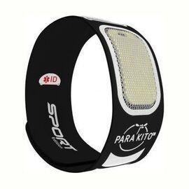 Sport edition bracelet anti-moustiques noir - parakito -226283