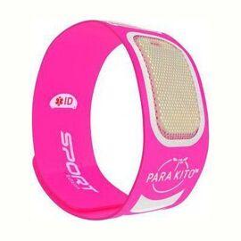 Sport edition bracelet anti-moustiques rose - parakito -226285