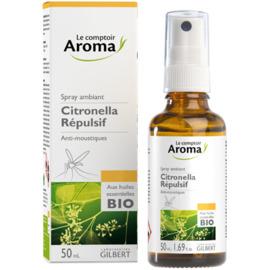 Spray ambiant citronella répulsif 50ml - le comptoir aroma -222040