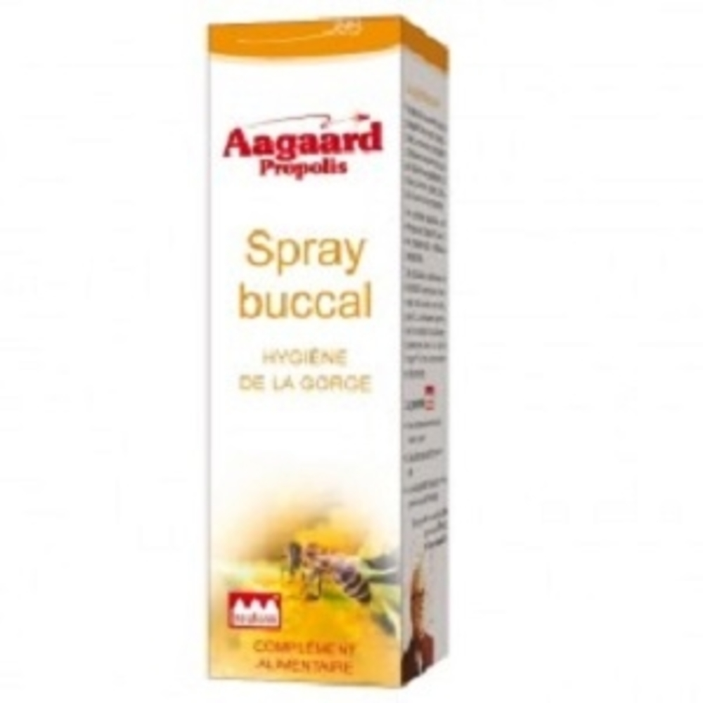 Spray buccal - 15.0 ml - pratiques - aagaard propolis Gorges irrités-1072
