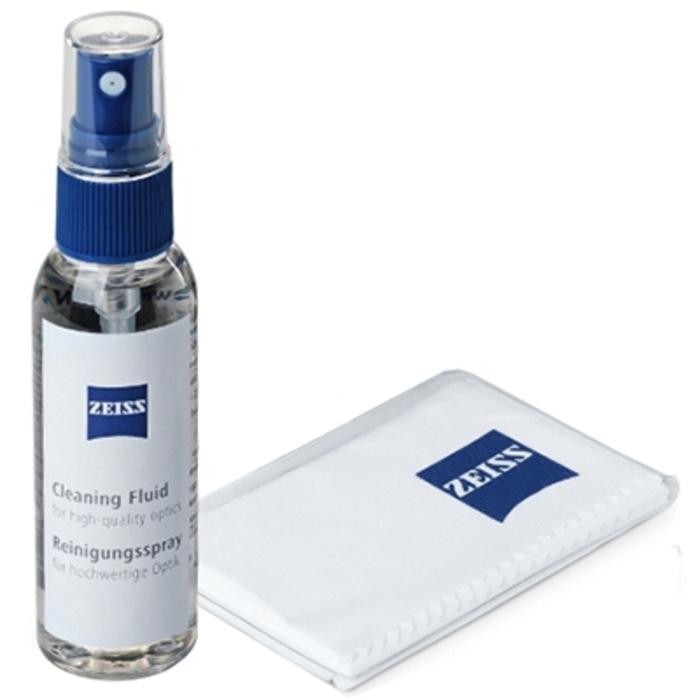 Spray nettoyant optique 30ml + chiffon microfibre Zeiss-211013