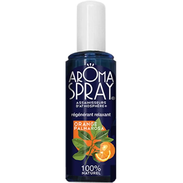 Spray orange palmarosa - 100ml Aromaspray-133534