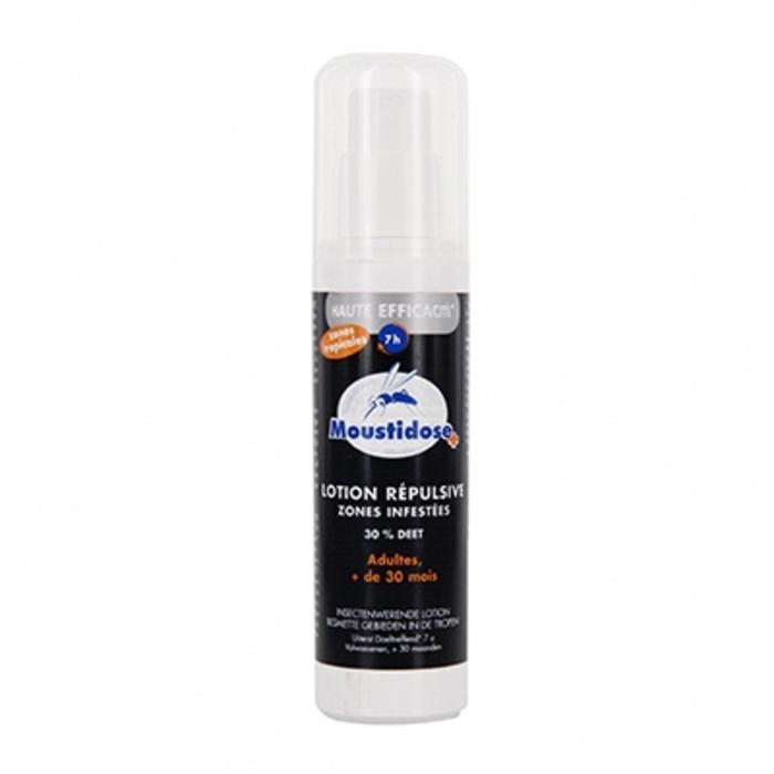 Spray répulsif 30% deet 125ml Moustidose-178706