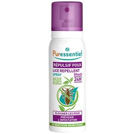 Spray répulsif poux - 75.0 ml - poux - puressentiel -130437