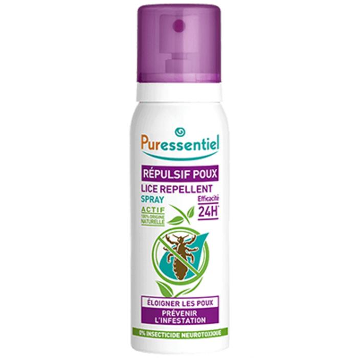 Spray répulsif poux Puressentiel-130437