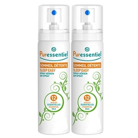 Spray sommeil détente - 2x - 75.0 ml - sommeil - détente - puressentiel 2 x 75ml-141286