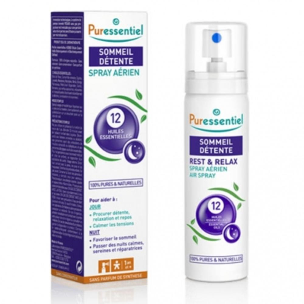 Spray sommeil détente - 75ml - 75.0 ml - sommeil - détente - puressentiel -13318