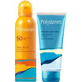Spray velouté au monoi spf50 150ml + après-soleil 200ml offert - polysianes -220680